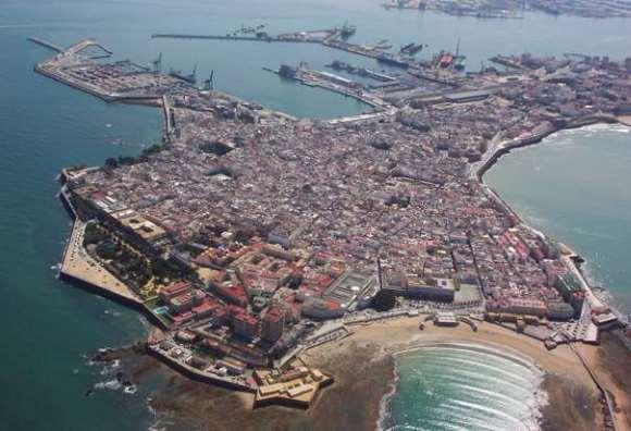 Cádiz desde el aire