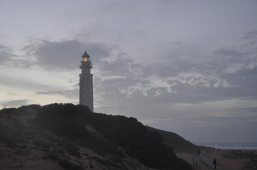 El Faro de Trafalgar, en el cabo del mismo nombre