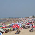 La playa de Regla, en Chipiona