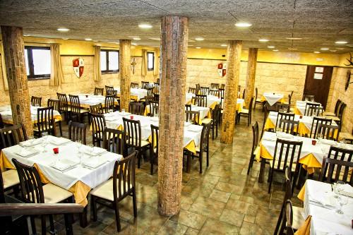 Salon del Restaurante El Castillo en Medina Sidonia