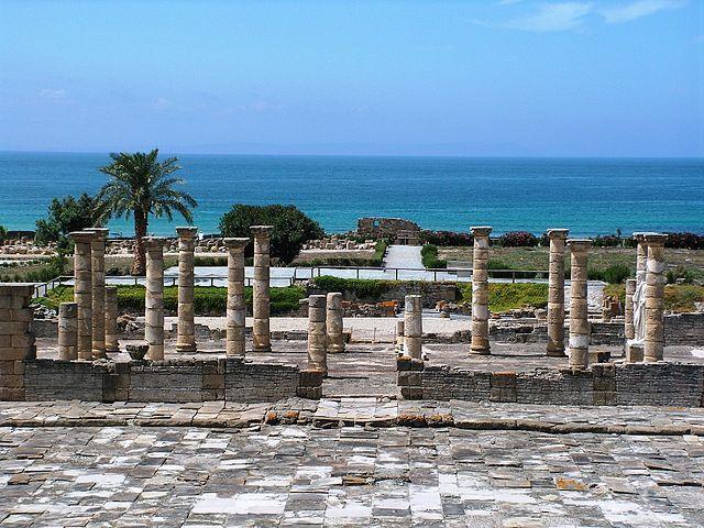 Ruinas de Baelo Claudia en Cádiz